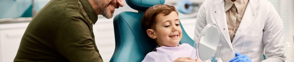 kids dental cleaning